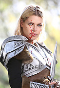Sophie Monk, Aussie celebrity and household name has been given the 'roll' of travel presenter. In this hilarious spoof travel segment, Sophie will be 'selling' Tamriel (from the video game, The Elder Scrolls Online: Tamriel Unlimited) as a beautiful holiday location while competing against contrasting off screen violence, blood splatters and a rather handsome/protagonist.