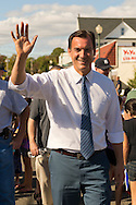 Bellmore, New York, U.S. 22nd September 2013. Former Nassau County Executive TOM SUOZZI (Democrat), who is running for his former office again, makes a campaign stop to the 27th Annual Bellmore Family Street Festival, featuring family fun with exhibits and attractions in a 25 square block area, with over 120,000 people expected to attend over the weekend.