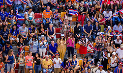08-07-2017 NED: World Grand Prix Netherlands - Thailand, Apeldoorn<br /> Third match of first weekend of group C during the World Grand Prix / Support publiek