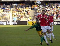Fotball<br /> Privatlandskamp<br /> Sør Afrika v Norge 2-1<br /> Rustenburg<br /> 28.03.2009<br /> Foto: Vegard Fiskerstrand, Digitalsport<br /> <br /> Morten Gamst Pedersen - NOR