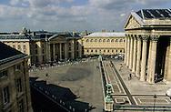 France. Paris. elevated view. Pantheon place view from Hotel du Pantheon  Paris  France