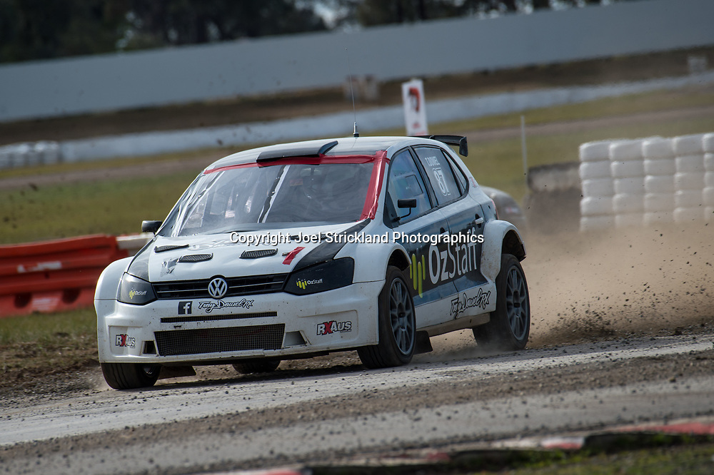 Troy Dowel - Vw polo - Rallycross Australia - Winton Raceway - 16th July 2017