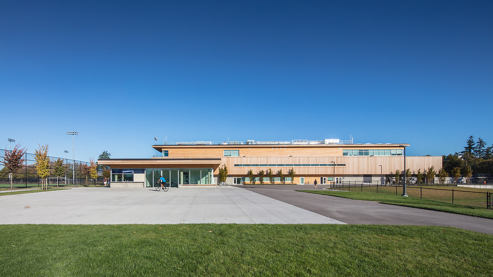 National Soccer Development Centre, UBC, Vancouver   Acton Ostry Architects with Brisbin Brook Beynon Architects   2017