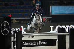 Lynch Denis, (IRL), Blue Silver<br /> Prize of Raumpflege Jumping<br /> Stuttgart - German Masters 2015<br /> © Hippo Foto - Stefan Lafrentz