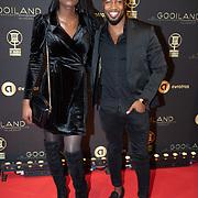 NLD/Hilversum/20200130 - Uitreiking De Gouden RadioRing 2020, Vanessa Ackah en ............