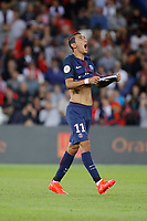 Angel Di Maria (psg) unsatisfied after missing the goal during the French L1 football match between Paris-Saint-Germain and Metz at Parc des Princes stadium in Paris, France on August 21, 2016 - Photo Stephane Allaman / DPPI