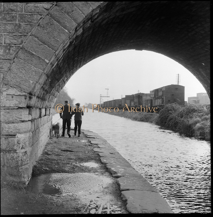 The Royal Canal, Dublin..11.02.1961