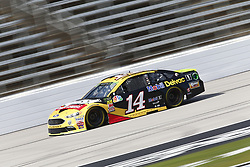 November 2, 2018 - Ft. Worth, Texas, United States of America - Clint Bowyer (14) takes to the track to practice for the AAA Texas 500 at Texas Motor Speedway in Ft. Worth, Texas. (Credit Image: © Justin R. Noe Asp Inc/ASP via ZUMA Wire)