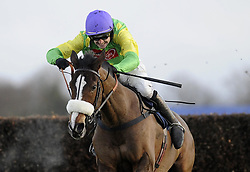 File photo dated 26-12-2009 of Kauto Star ridden by Ruby Walsh go on to win The William Hill King George VI Steeple Chase during the William Hill Winter Festival at Kempton Park Racecourse, Middlesex.