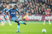 Davinson Sanchez (Tottenham) during the EFL Cup 4th round match between West Ham United and Tottenham Hotspur at the London Stadium, London, England on 31 October 2018.