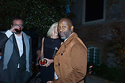 THEASTER GATES; , Hauser and Wirth cocktail reception. Palazzo Balbi-Valier, Dorsoduro 866, Venice, Venice Biennale, Venice. 5 May 2015
