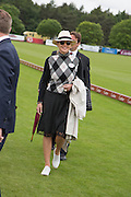 SHARON STONE, Cartier Queen's Cup final at Guards Polo Club, Windsor Great Park. 16 June 2013