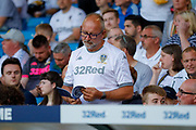 Leeds United fans during the EFL Cup match between Leeds United and Stoke City at Elland Road, Leeds, England on 27 August 2019.