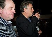 JIM NAUGHTIE; STEPHEN FREARS, BBC Four Samuel Johnson Prize party. Souyh Bank Centre. London. 15 July 2008.  *** Local Caption *** -DO NOT ARCHIVE-© Copyright Photograph by Dafydd Jones. 248 Clapham Rd. London SW9 0PZ. Tel 0207 820 0771. www.dafjones.com.