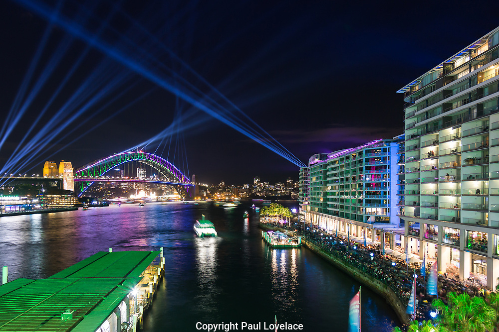 Vivid Sydney. The largest festival of light in the southern hemisphere.