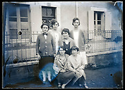 female only group posing France circa 1930s