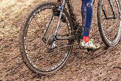 Zach Mcdonald (USA), Men Elite, Cyclo-cross World Championship Tabor, Czech Republic, 1 February 2015, Photo by Pim Nijland / PelotonPhotos.com