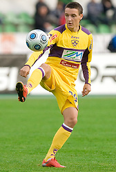 Timotej Dodlek of Maribor at 13th Round of Prva Liga football match between NK Olimpija and Maribor, on October 17, 2009, in ZAK Stadium, Ljubljana. Maribor won 1:0. (Photo by Vid Ponikvar / Sportida)
