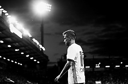 Federico Cartabia of Valencia under the lights in Black and White during the preseason friendly against Bournemouth - Mandatory by-line: Robbie Stephenson/JMP - 03/08/2016 - FOOTBALL - Vitality Stadium - Bournemouth, England - AFC Bournemouth v Valencia - Pre-season friendly