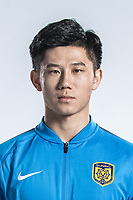**EXCLUSIVE**Portrait of Chinese soccer player Tao Yuan of Jiangsu Suning F.C. for the 2018 Chinese Football Association Super League, in Nanjing city, east China's Jiangsu province, 23 February 2018.