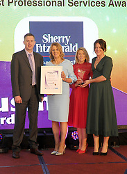 Mayo Business Awards 2018 Best Professional Services Award Sponsored by Permanent TSB was won by Sherry Fitzgerald Feeney West. <br />