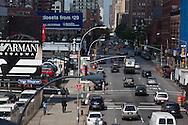 New York.    Chelsea , elevated view on 12th avernue/ la 12em avenue vue d'en haut