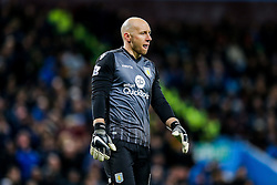 Brad Guzan of Aston Villa looks dejected - Mandatory byline: Rogan Thomson/JMP - 01/03/2016 - FOOTBALL - Villa Park Stadium - Birmingham, England - Aston Villa v Everton - Barclays Premier League.