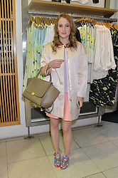ROSIE FORTESCUE at a party to celebrate the launch of French Connection's #CANTHELPMYSELFIE -The UK's first in-store interactive selfie booths and windows held at French Connection, 249-251 Regent Street, London on 15th April 2014.