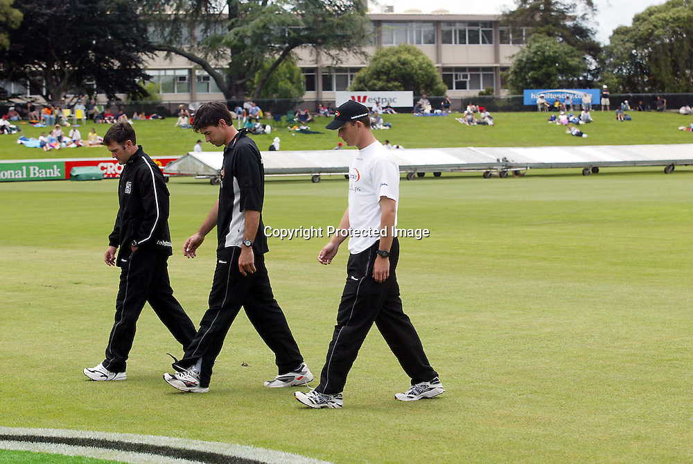 19th December, 2002. WestpacTrust Stadium, Hamilton, New Zealand. 2nd Test Match, Day 1. New Zealand v India. <br />