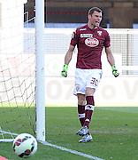 Udine, 08 marzo 2015<br /> Serie A 2014/2015. 26^ giornata.<br /> Stadio Friuli.<br /> Udinese vs Torino.<br /> Nella foto: il portiere del Torino Daniele Padelli.<br />  © foto di Simone Ferraro