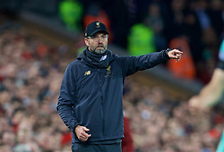 LIVERPOOL, ENGLAND - Saturday, December 29, 2018: Liverpool's manager Jürgen Klopp during the FA Premier League match between Liverpool FC and Arsenal FC at Anfield. (Pic by David Rawcliffe/Propaganda)