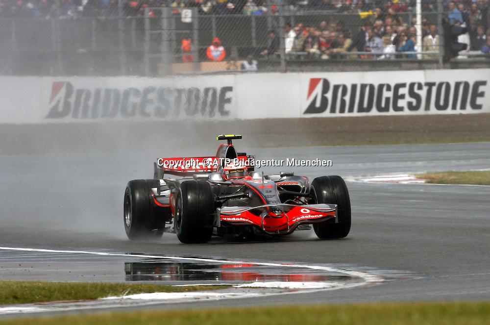 Heikki KOVALAINEN, SF, McLaren Mercedes. Formula 1, British GP, Silverstone, England. 6 july 2008. Photo: ATP/PHOTOSPORT