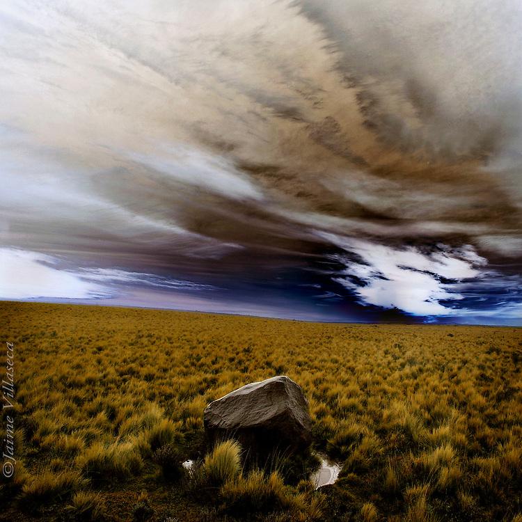 FOT&Oacute;GRAFO: Jaime Villaseca ///<br /> <br /> Pampa patag&oacute;nica.