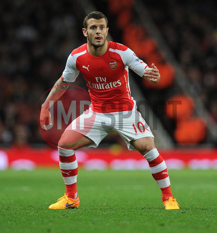 Arsenal's Jack Wilshere - Photo mandatory by-line: Alex James/JMP - Mobile: 07966 386802 - 11/05/2015 - SPORT - Football - London - Emirates Stadium - Arsenal v Swansea City - Barclays Premier League