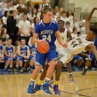 1.23.2015 Midview at Avon Boys Varsity Basketball