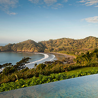 Pool and gardens of Casa   Los Monitos in located in Punta Islita, Guanacaste, Costa Rica. Photo: Tito Herrera for The New York Times.