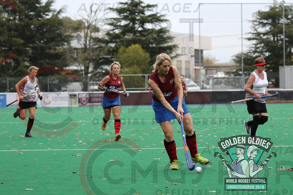 GOLDEN OLDIES FESTIVAL OF SPORT HOCKEY<br /> FOSSIL SHARKS<br /> 20180416<br /> KEVIN CLARKE<br /> Photo KEVIN CLARKE CMG SPORT ACTION IMAGES<br /> &copy;cmgsport2018