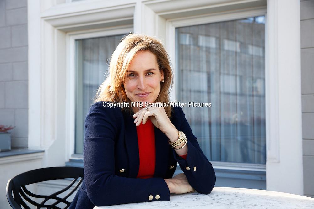 OSLO  20150309.<br /> Santa Montefiore, engelsk sukessforfatter som er omgangsvenn med den britiske kongefamilien, lanseres i Norge.<br /> Foto: Cornelius Poppe / NTB scanpix<br /> <br /> NTB Scanpix/Writer Pictures<br /> <br /> WORLD RIGHTS, DIRECT SALES ONLY, NO AGENCY