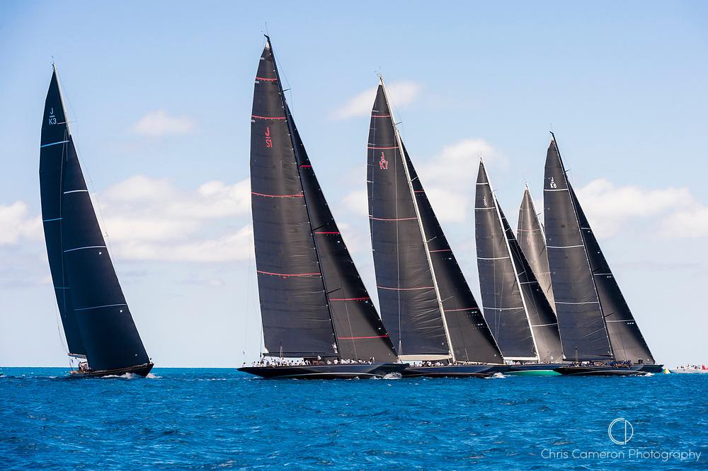 Bermuda, 19th June 2017, America's Cup J Class Regatta.