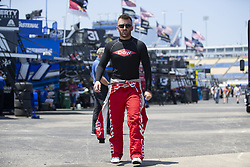 July 13, 2018 - Sparta, Kentucky, United States of America - Austin Dillon (3) gets ready to practice for the Quaker State 400 at Kentucky Speedway in Sparta, Kentucky. (Credit Image: © Stephen A. Arce/ASP via ZUMA Wire)