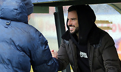 Former Peterborough United player George Boyd now of Sheffield Wednesday in attendance - Mandatory by-line: Joe Dent/JMP - 25/11/2017 - FOOTBALL - Crown Oil Arena - Rochdale, England - Rochdale v Peterborough United - Sky Bet League One