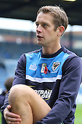 Paul Robinson of AFC Wimbledon on his first return to Fratton Park since leaving Portsmouth FC in the summer to join the Dons. Prior the Sky Bet League 2 match between Portsmouth and AFC Wimbledon at Fratton Park, Portsmouth, England on 15 November 2015. Photo by Stuart Butcher.