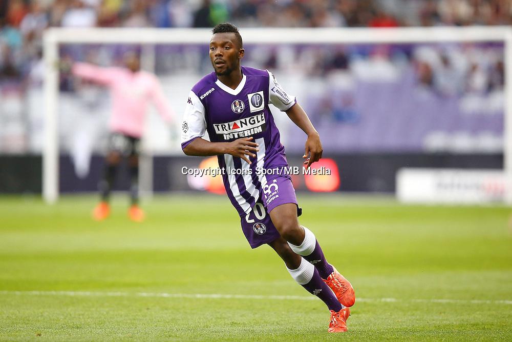 Steeve Yago - 25.04.2015 - Toulouse / Nantes - 34eme journee de Ligue 1<br />Photo : Manuel Blondeau / Icon Sport