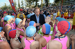 The Duke and Duchess of Cambridge on Manly beach Sydney, Australia, Friday, 18th April 2014. Picture by  i-Images UK OUT for 28 days from date of creation