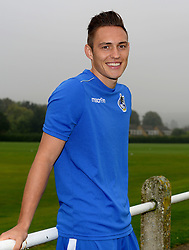 Connor Roberts poses at Bristol Rovers Training Ground after signing for Bristol Rovers - Mandatory by-line: Joe Meredith/JMP - 25/08/2016 - FOOTBALL - Bristol Rovers Training Ground - Bristol, England - Bristol Rovers New Signings