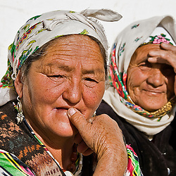 People from Murgab, Pamir highway, Tajikistan, Asia
