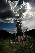 052710-Morrison, Colorado-cyclocross-Cyclocross racer, 15, of Conifer, poses for a portrait Thursday, May 27, 2010 near the hogback in Morrison..Photo By Matthew Jonas/Evergreen Newspapers/Photo Editor