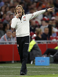 Peru coach Ricardo Gareca during the International friendly match match between The Netherlands and Peru at the Johan Cruijff Arena on September 06, 2018 in Amsterdam, The Netherlands