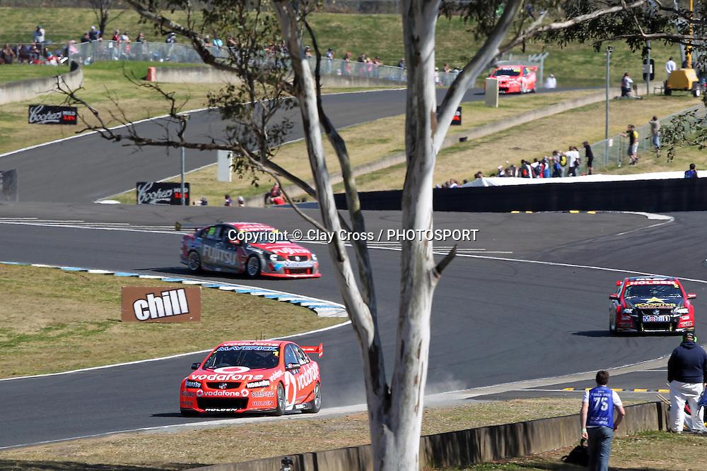 Jamie Whincup (TeamVodafone Holden). Sydney Motorsport Park 360 ~ Race 18 2012 V8 Supercar Championship Series. Sydney Motorsport Park, Sydney on Saturday 25 August 2012. Photo: Clay Cross / photosport.co.nz
