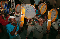 Sao Luis Do maranhao , Brazil-june 22th 2008 : bumba meu boi festival music celebration every solstice of june in center historic city of soa luis do maranhao brazil